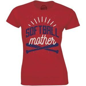 Softball Mom Softball Mother's Day Gift T-shirt
